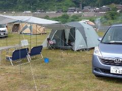 キャンプデビュー!笠置キャンプ場!1日目あぁ~しんど、