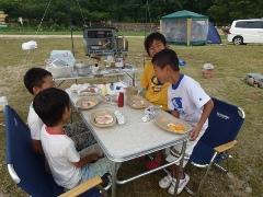 キャンプデビュー!笠置キャンプ場!2日目あぁ~しんど、