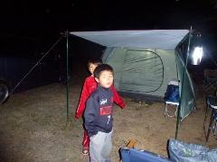 キャンプ第3弾!in 能勢グリーンランドキャンプ場!能勢の郷 アスレチック!大変や!