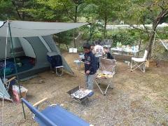 キャンプ第3弾!in 能勢グリーンランドキャンプ場!能勢の郷 アスレチック!2日目、大変や!