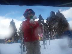 3年年目のスノボー in また箱館山スキー場!